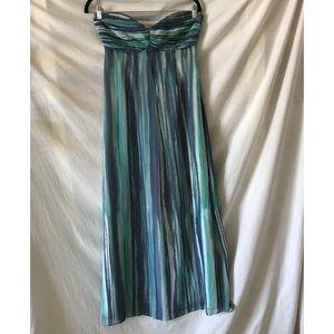 Lauren Conrad Strapless Mermaid Maxi Dress